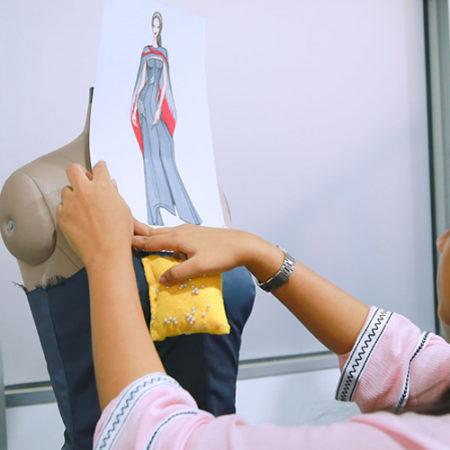 Bachelor in Fashion Design offered by Mod'Art International Paris